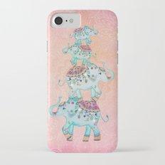 LUCKY ELEPHANTS iPhone 7 Slim Case