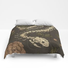 Snake Skeleton Comforters