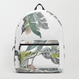 Palm Leaf Twist Backpack