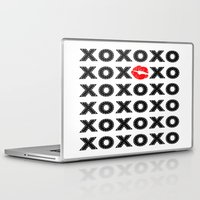 xoxo Laptop & iPad Skins featuring XOXO by DuniStudioDesign