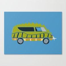 Death Race 2000 Alligator Van Canvas Print