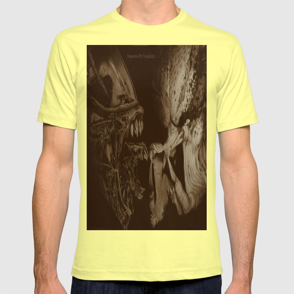 1eedd586 Alien vs Predator T-shirt by jorgensonartsyndicate | Society6