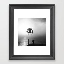 Iron Giant Framed Art Print
