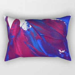 Wings Collection  blue/pink Rectangular Pillow