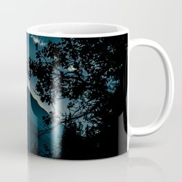 Glow - Sunset over Mountains in Jasper, Canada Coffee Mug