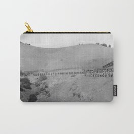 World War I Camp Fremont Solders in Palo Alto Carry-All Pouch