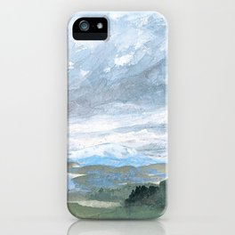 Landscapes in my mind iPhone Case
