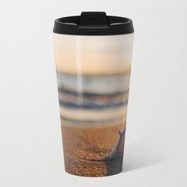 Seashore Seashell Travel Mug