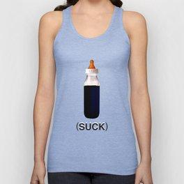 DgM Bottle Suck Unisex Tank Top