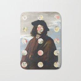 A Portrait With Dots 3 Bath Mat