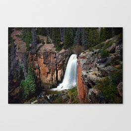 South Clear Creek Falls Canvas Print