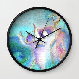 Miriam and the Women Dancing Wall Clock