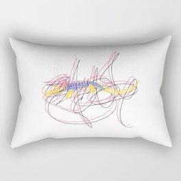 Croco Squiggle Rectangular Pillow