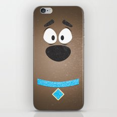 Minimal Scooby iPhone & iPod Skin