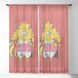Nekomamushi Sheer Curtain