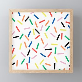 Sprinkles Fresh Framed Mini Art Print