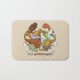 I Heart Dinosaurs Bath Mat