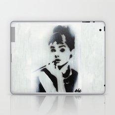 AUDREY HEPBURN STENCIL Laptop & iPad Skin