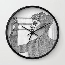 PULLING // DOWN Wall Clock