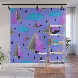 Purple Py Wall Mural