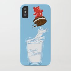 Sweets Surfing iPhone X Slim Case