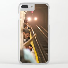 Subway Stories (Pt 1 - New York City) Clear iPhone Case
