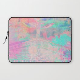 Totem Cabin Abstract - Pastel Laptop Sleeve