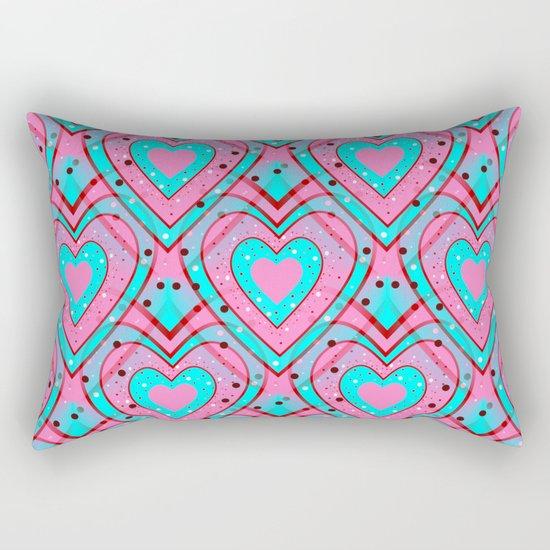 Mad For You Rectangular Pillow