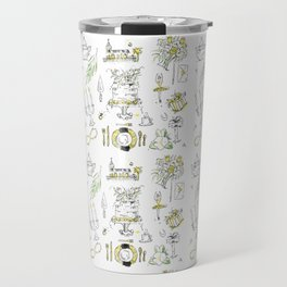 Golden Wedding Tori Beth Travel Mug