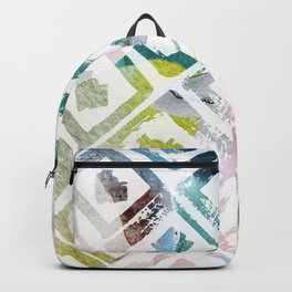 Awash | Colorful Geometric Print Backpack
