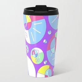 Bubble Purple Travel Mug