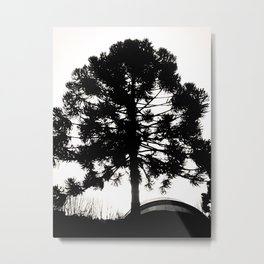 Black Tree  Metal Print