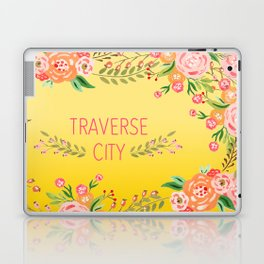 yellow tc flower Laptop & iPad Skin
