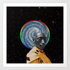 Astro Travels Art Print