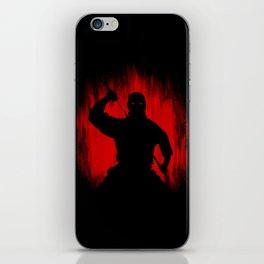 Ninja / Samurai Warrior iPhone Skin