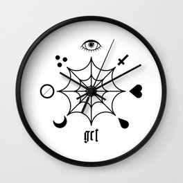 GCT White Wall Clock