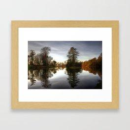 Rye Water Lake Framed Art Print