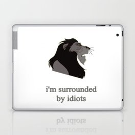 scar surrounded by idiots Laptop & iPad Skin