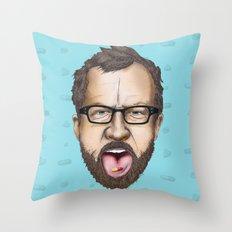 Lars Von Trier Throw Pillow