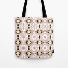 Pink flower pattern Tote Bag