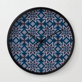 Pattern in Grandma Style #52 Wall Clock