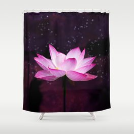 magical lotus Shower Curtain