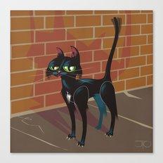Cat City Canvas Print
