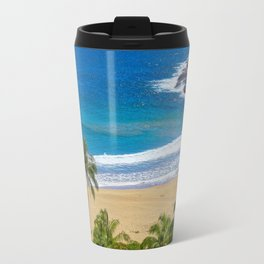 Hawaiian beach Travel Mug
