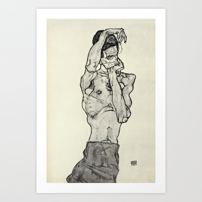 Egon Schiele  -  Zeichnungen II Kunstdrucke