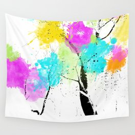 Tree of colors... Wall Tapestry