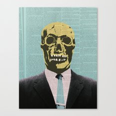 Working Man Canvas Print