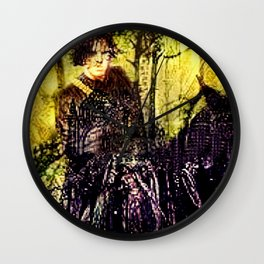 "TNTs Shakespeare Serie ""Will"" Wall Clock"