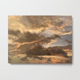 Photo 38 sky sunset Metal Print