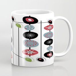 Mid-Century Modern Art Atomic Cocktail 2.0 Coffee Mug